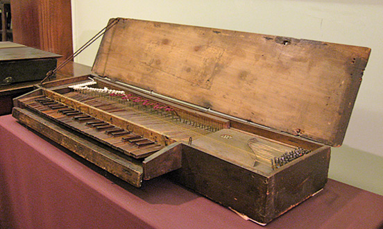 Anonymes Clavichord (Russell Collection, Edinburgh)